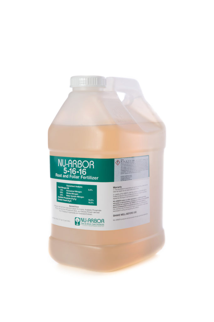NU-ARBOR 5-16-6 Root and Follar Fertilizer